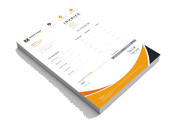 About CP Print Services Invoices