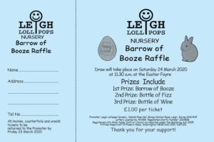 Personalised Numbered Raffle Tickets