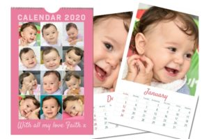 Personalised Photo Calendar A4