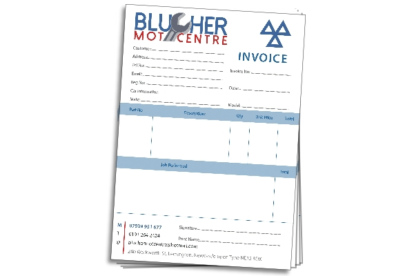 NCR forms, invoices, order forms, purchase orders