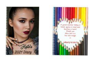 Personalised Diaries & Custom Planner